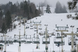 ski lifts at big bear lake