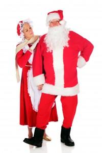 Inspecting Santa